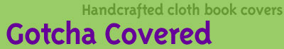 cloth book covers headline graphic